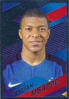 "Football : Vignette, Stickers, PANINI, ""FRANCE FFF"", N° 54, Kylian Mbappé, Neuve, 2 Scans - Panini"