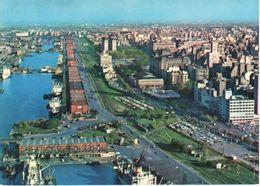 POSTAL    BUENOS AIRES  -ARGENTINA  -VISTA AEREA DE LA ZONA PORTUARIA - Argentine