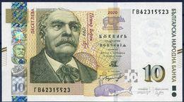 Bulgaria / Bulgarie - Banknote 10 Lv  Emission 2020 UNC - Bulgaria