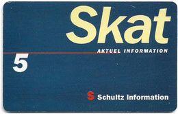 Denmark - Tele Danmark (chip) - Skat - TDP312 - 05.1999, 4.100ex, 5kr, Used - Danemark