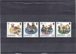 JERSEY-NEUFS**-NO 474/77-C-5.00-PV-0.50 EUROS. - Jersey