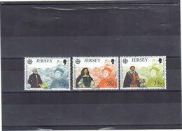 JERSEY-NEUFS**-NO 572/74-C-5.00-PV-0.50 EUROS. - Jersey