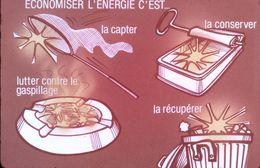 1980 DIAPOSITIVE PUBLICITAIRE ELECTRICITE DE FRANCE - Diapositive