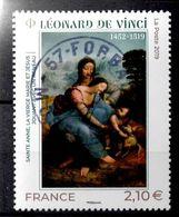 FRANCE 2019 - Timbre - Léonard De Vinci 1452-1519 Oblitéré Cachet Rond - France