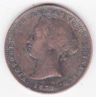 Jersey, 1/13 Shilling 1871, Victoria, Bronze, KM# 5 - Jersey
