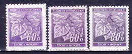 Boheme Et Moravie 1941 Mi 65 (Yv 44), (MNH)** Couleurs - Bohême & Moravie