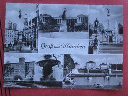 """München - Mehrbildkarte """"Gruß Aus München"""" - München"""