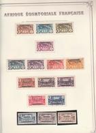 Afrique équatoriale Française - A.E.F. (1936-1958)