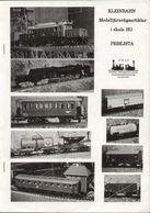 Catalogue KLEINBAHN 1985 Modelljärnvägsartiklar I Skala HO 1/87 - En Suédois - Libros Y Revistas
