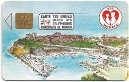 Monaco - MF23 (001) - Protectrice Des Animaux - Cn. P0001, Gem1A Symmetr. Black, 04.1992, 120Units, 110.000ex, Used - Monaco