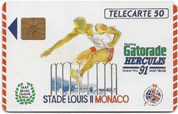 Monaco - MF15 - Herculis '91, Gem1A Symmetr. Black, 08.1991, 50Units, 20.000ex, Used - Monaco
