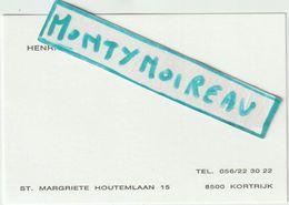 V P :  Petite   Carte D E Visite , Kortrijk , St. Margriete  Houtemlaan - Cartes De Visite
