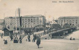 LIBAU / Liepaja - Hansa-Brücke (ca. 1916) - Latvia