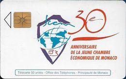 Monaco - MF28 (A) - Chambre Economique - Cn. B3411731 A, Gem1A Symmetr. Black, 05.1993, 50Units, 20.000ex, Used - Monaco