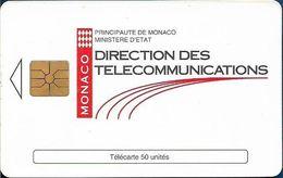 Monaco - MF31 (005) - Direction Des Telecomm. - Cn. 005, Gem1A Symmetr. Black, 12.1993, 50Units, 100.000ex, Used - Monaco