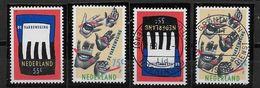 Nederland - 1989 - Yv.1328/1329 - **  En O - De Vakbeweging. - Periodo 1980 - ... (Beatrix)