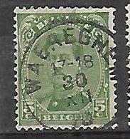 OCB Nr 137 Albert I  - Centrale Stempel Waereghem  ( Waregem ) - 1915-1920 Albert I