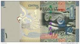 KUWAIT P. 31a 1 D 2014 UNC - Koeweit