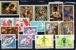 H1-5 Niger Poste Aérienne Entre N° 249 Et 264 ** - Niger (1960-...)