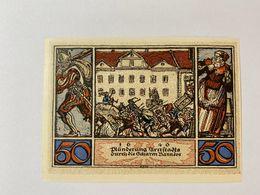 Allemagne Notgeld Arnstadt 50 Pfennig - [ 3] 1918-1933 : République De Weimar