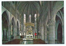 INTERIOR DE LA IGLESIA ESTILO GOTICO SIGLO XIII.- RONCESVALLES / NAVARRA.- ( ESPAÑA). - Iglesias Y Catedrales