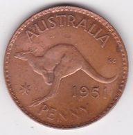 Australie 1 Penny 1951, George VI. KM# 43 - Moneda Pre-decimale (1910-1965)