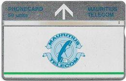 Mauritius - L&G - Telecom's Logo - 509B - 09.1995, 50Units, 15.000ex, Used - Maurice