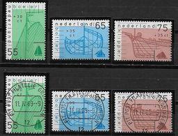 Nederland - 1989 - Yv.1331/1333 - Mi.1361/1363 - ** En O  - Zomerzegels. - Periodo 1980 - ... (Beatrix)