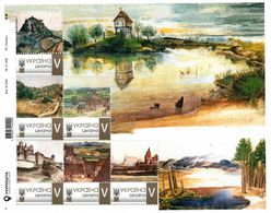 Ukraine 2020, Painting, A. Durer, Sheetlet Of 6v - Ucrania
