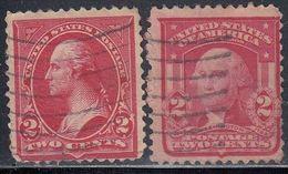 United States, Scott #279B, 319, Used, Washington, Issued 1897, 1903 - 1847-99 General Issues