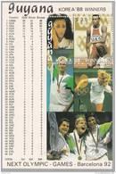 Guyana Hb Michel 41 Plata - Summer 1992: Barcelona