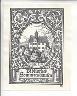 Ex Libris.80mmx110mm. - Ex Libris
