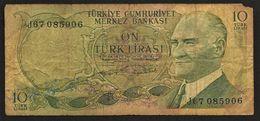 "10 Lira ""TURQUIE""      Ro65 - Turchia"