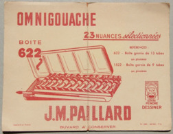 Buvard J.M. Paillard, Omnigouache Peinture - Peintures