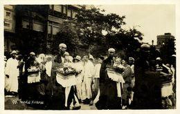 China, HONG KONG, Chinese Funeral, Monks (1920s) RPPC Postcard - Chine (Hong Kong)