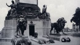 BRUSSELS Tomb Of The Unknown Soldier Tombe Du Soldat Inconnu Bruxelles Brussel Graf Van De Onbekende Soldaat - Cementerios De Los Caídos De Guerra