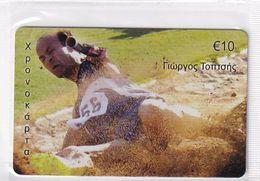 GREECE - Giorgos Toptsis/Long Jump, Paralympics, Amimex Prepaid Card 10 Euro(807 8075), Tirage %5000, Mint - Sport