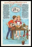 OROSCOPO - SAGITTARIO 23/11 - 21/12 (Disegni: BARNINI) - Astrology