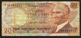 """20 Lira """"TURQUIE""""  P187a    Ro65 - Turchia"""