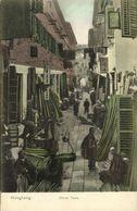 China, HONG KONG, Street Scene In China Town (1910s) Postcard - Chine (Hong Kong)