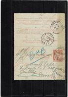 CTN63/EP - CL PNEUMATIQUE CHAPLAIN 45F - Postal Stamped Stationery
