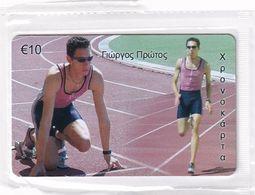 GREECE - Giorgos Protos/Athletics, Amimex Prepaid Card 10 Euro(807 8075), Tirage %5000, Mint - Griechenland