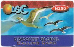 Nigeria - DGC - Seagulls, Remote Mem. 250₦, Used - Nigeria