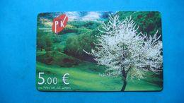 Kosovo - Serbia, 5 Euro CHIP PHONE CARD, Mountain Brezovica - Kosovo