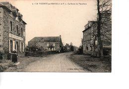CP LA VICOMTE SUR RANCE La Route De Pleudihen - France