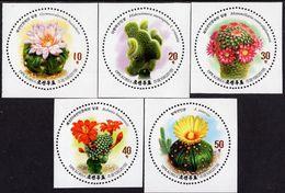 North Korea - 2019 - Cacti - Mint Stamp Set - Corea Del Nord