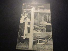 CP Fileuse - Métier à Tisser - Artisanat