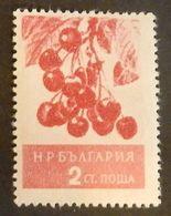 "BULGARIE  YT 851 NEUF**MNH ""CERISES"" ANNÉES 1956/1957 - 1945-59 Volksrepublik"