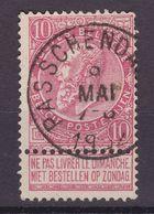 N° 58 PASSCHENDAELE - 1893-1900 Schmaler Bart