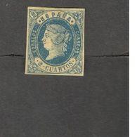 SPAIN 1862: Edifil 57 (mng*)Cat.Value 49Euros - 1850-68 Königreich: Isabella II.